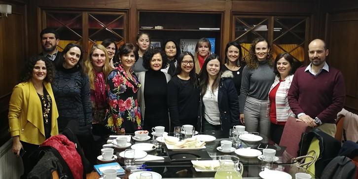 ComunidadMujer deayuno-norma Institucionales Liderazgo Mujer y trabajo Noticias Noticias destacadas