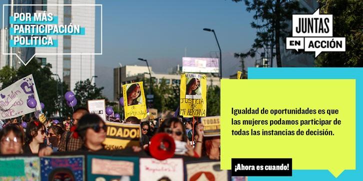 ComunidadMujer rectangular_participacion1- Género y educación Mujer y política Mujer y trabajo Noticias Noticias destacadas