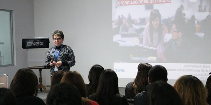 ComunidadMujer CHARLA-ENEX Institucionales Liderazgo Noticias Noticias destacadas